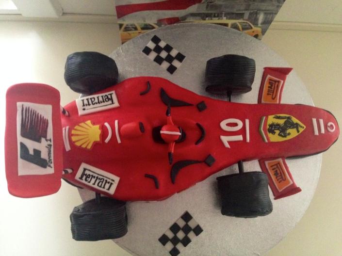 Formula 1 Ferrari Kage