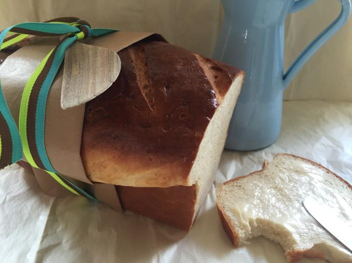 Almindeligt, lækkert franskbrød.